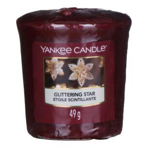 Glittering Star Sampler Votive Candle