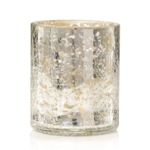 Kensington Mercury Crackle Glass Votive Holder