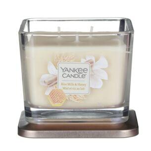 Yankee Candle Rice Milk & Honey Elevation Medium Jar Candle