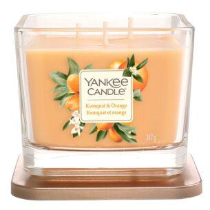 Yankee Candle Kumquat & Orange Elevation Medium Jar Candle