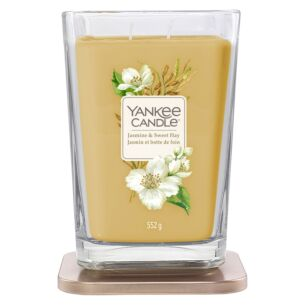 Jasmine & Sweet Hay Large Elevation Candle