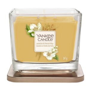 Jasmine & Sweet Hay Medium Elevation Candle