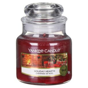 Holiday Hearth Small Jar Candle