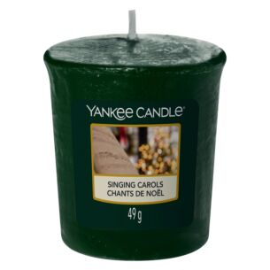 Singing Carols Sampler Votive Candle