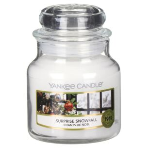 Surprise Snowfall Small Jar Candle