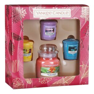 The Last Paradise Three Votive and Small Jar Gift Set