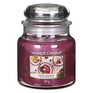 Exotic Acai Bowl Medium Jar Candle