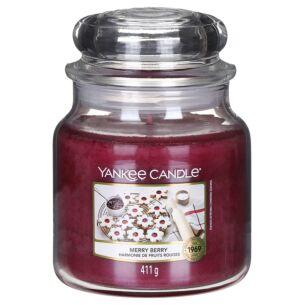 Merry Berry Medium Jar Candle