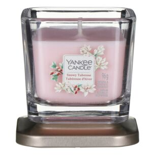 Snowy Tuberose Small Elevation Candle
