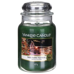 Tree Farm Festival Large Jar Candle