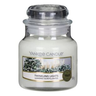 Twinkling Lights Small Jar Candle