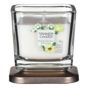 Blooming Cotton Flower Small Elevation Candle