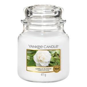 Camellia Blossom Medium Jar Candle
