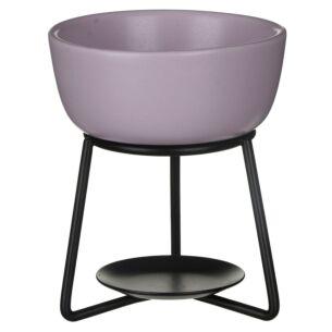 Grey Lilac Pebble Wax Melt Warmer