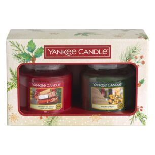 Magical Christmas Morning Two Medium Jar Candle Gift Set