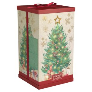 Magical Christmas Morning Advent Calendar Tower