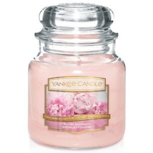 Yankee Candle Sunday Brunch Blush Bouquet Medium Jar Candle