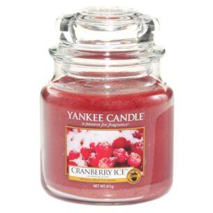 Cranberry Ice Medium Jar Candle
