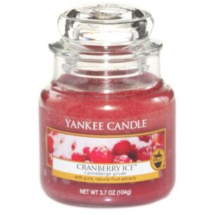 Cranberry Ice Small Jar Candle