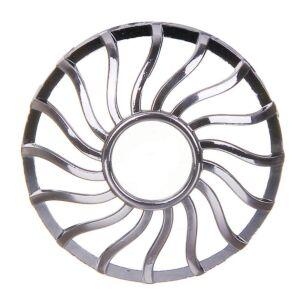 Curve Gun Metal Illuma-lid