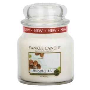 Shea Butter Medium Jar Candle