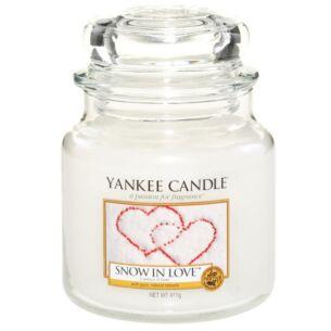 Snow In Love Medium Jar Candle