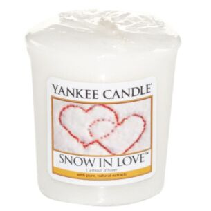 Snow In Love Sampler Votive Candle
