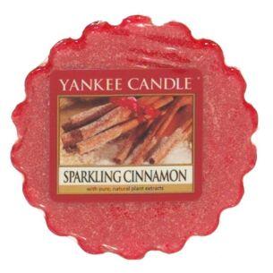 Sparkling Cinnamon Wax Melt Tart