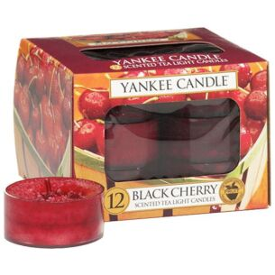 Black Cherry Pack of 12 Tealights