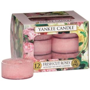 Fresh Cut Roses Pack of 12 Tealights