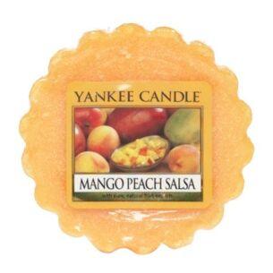 Mango Peach Salsa Wax Melt Tart