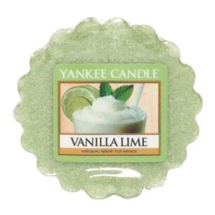 Yankee Candle Vanilla Lime Wax Melt Tart