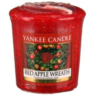 Red Apple Wreath Sampler Votive Candle