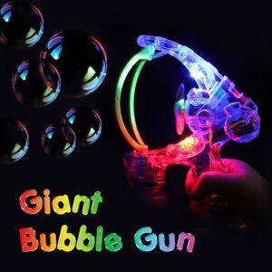 Giant Light Up Bubble Gun
