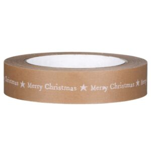 Merry Christmas Wide Adhesive Tape – 50m