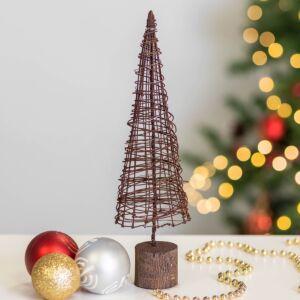 Rusty Wire Cone Christmas Tree