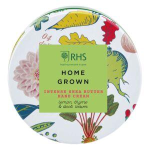 RHS Home Grown Intense Shea Butter Hand Cream Tin