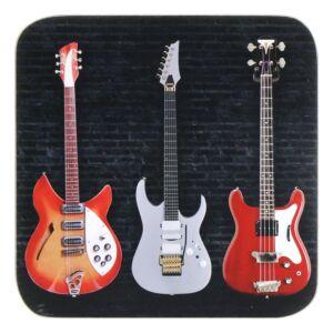 Guitars Set Of 4 Coasters