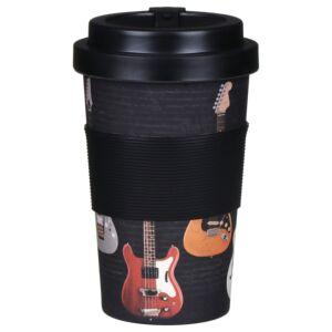 Guitar Bamboo Travel Mug