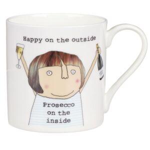 Prosecco On The Inside Mug