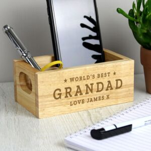 Personalised 'World's Best' Mini Wooden Crate