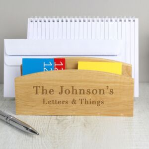 Personalised Wooden Letter Rack