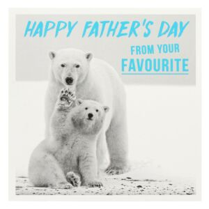 Your Favourite Father's Day Card