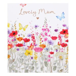 Wild Meadow Flowers Mother's Day Card
