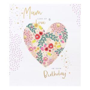 Day Dreamer Mum Heart Birthday Card