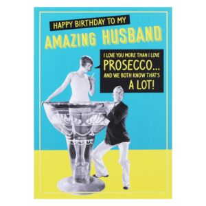 Jitterbug Husband Birthday Card