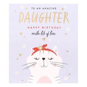 Nutmeg Daughter Birthday Card