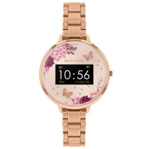 Series 3 Rose Gold Metal Links Smart Watch