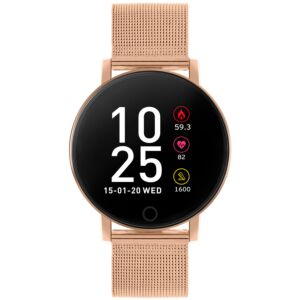 Series 5 Rose Gold Mesh Smart Watch