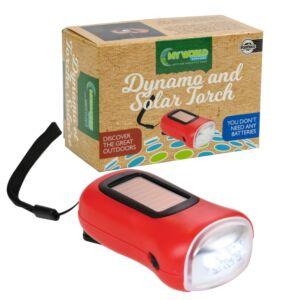 My World Dynamo & Solar LED Torch